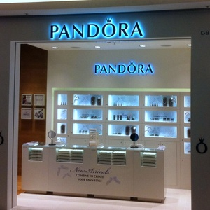 Pandora jewellery store APM shopping mall Hong Kong