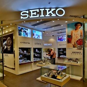 Seiko watch store APM shopping mall Hong Kong