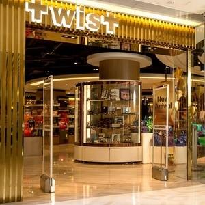 Twist store WTC More shopping mall Hong Kong