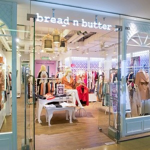 bread n butter clothing store Cityplaza Hong Kong