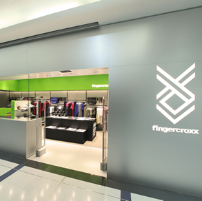 fingercroxx clothing store Miramar shopping centre Hong Kong