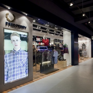 Fred Perry clothing store Harbour City Hong Kong