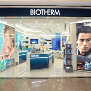 Biotherm beauty shop Times Square Hong Kong