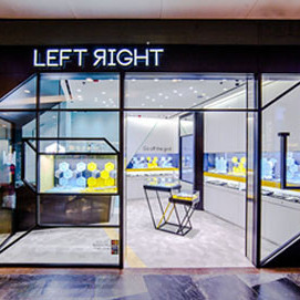 Left Right jewellery & accessory store Langham Place Hong Kong