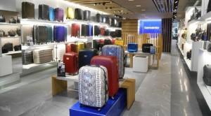 Samsonite shop IFC Mall Hong Kong