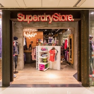 Superdry clothing store New Town Plaza Hong Kong