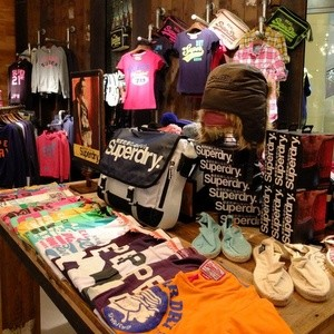 Superdry shop Hysan Place Hong Kong