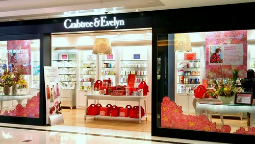 Crabtree & Evelyn store Telford Plaza Hong Kong