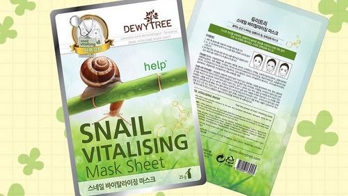 DewyTree Snail Vitalising Mask Sheet