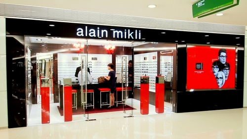 Alain Mikli shop at Harbour City mall in Hong Kong.