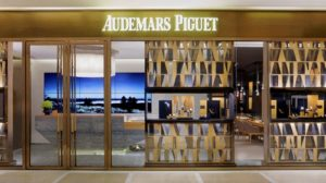 Audemars Piguet watch shop at ifc mall in Hong Kong.