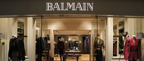 Balmain shop within Pacific Place in Hong Kong