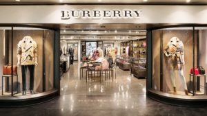 Burberry clothing store within Hong Kong International Airport.