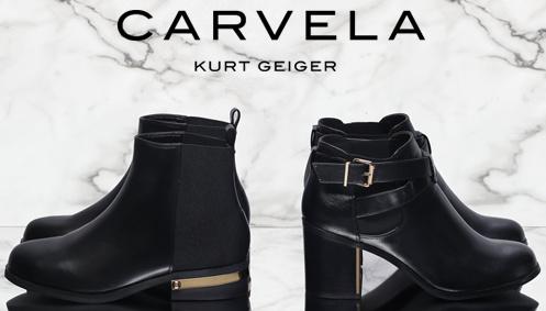 Carvela Kurt Geiger shoes ad.
