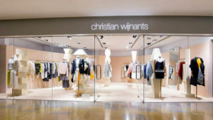 Christian Wijnants clothing shop at Pacific Place mall in Hong Kong.