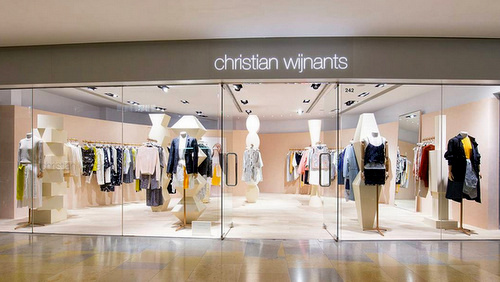 d977689591 Christian Wijnants clothing shop at Pacific Place mall in Hong Kong.