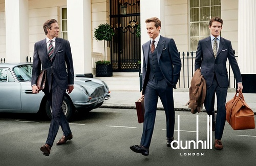 Dunhill London ad.