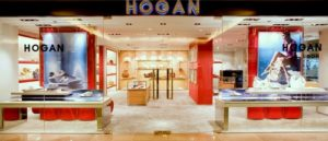 Hogan shop at Harbour City mall in Hong Kong.
