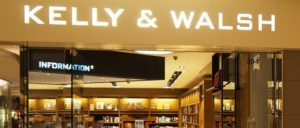 Kelly & Walsh bookstore at Pacific Place mall in Hong Kong.