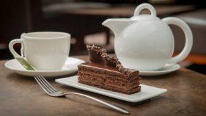 La Maison du Chocolat pastry and tea in Hong Kong.