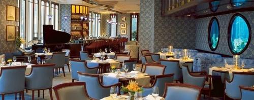 Lobster Bar and Restaurant in Hong Kong.