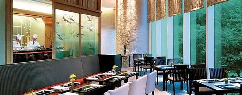 Nadaman Japanese restaurant in Hong Kong.