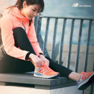 New Balance running shoes in Hong Kong.