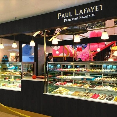 Paul Lafayet French bakery at tmtplaza mall in Hong Kong.