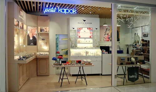 Petit Kapok store in APM shopping center, Hong Kong.