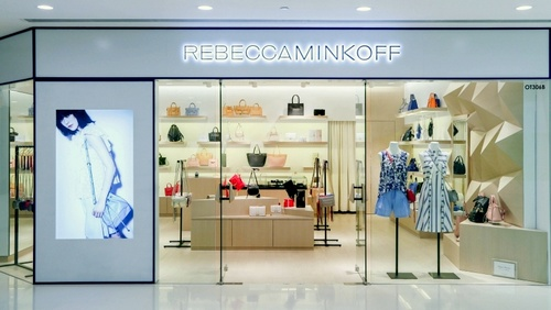 b2c69d267f Rebecca Minkoff shop at Harbour City mall in Hong Kong. American designer  ...