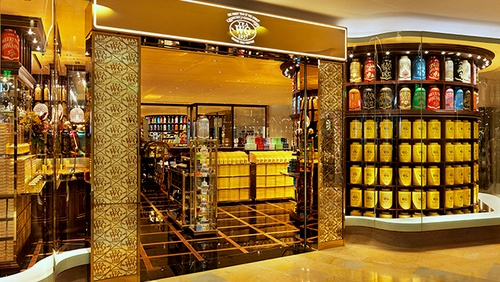 Tea WG Salon & Boutique at Pacific Place mall in Hong Kong.