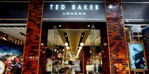 Ted Baker shop Fashion Walk Hong Kong