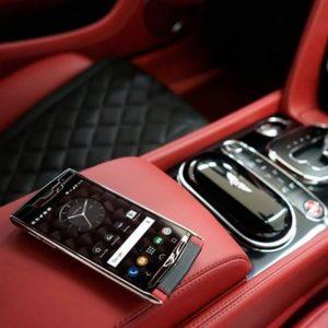 Vertu Bentley mobile phone.