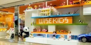 Wise-Kids Educational Toys store at Landmark Prince's in Hong Kong.