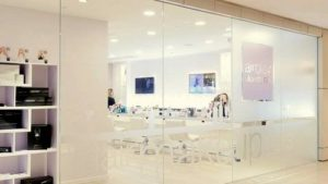 airplay blow dry bar beauty salon The Landmark Hong Kong.