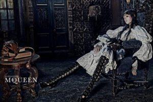 Alexander McQueen ad.