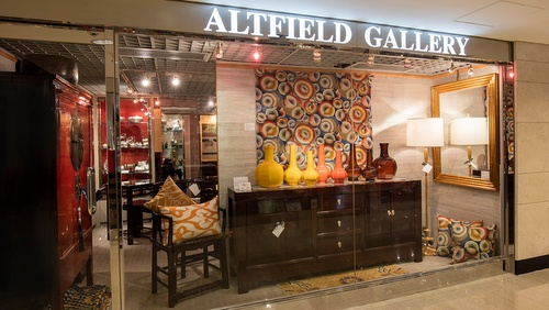 Altfield antiques gallery Landmark Hong Kong.