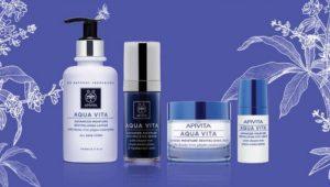 Apivita beauty products.