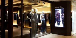 Blanc de Chine clothing store Landmark Hong Kong.