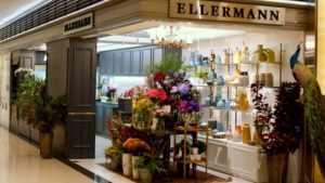 Ellermann flower boutique Landmark Hong Kong.