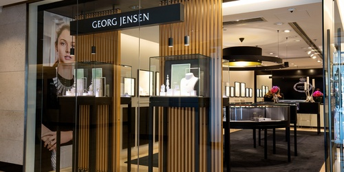 Georg Jensen store The Landmark Hong Kong.