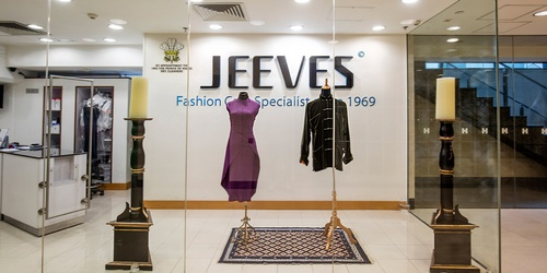 Jeeves dry cleaning and laundry service The Landmark Hong Kong.