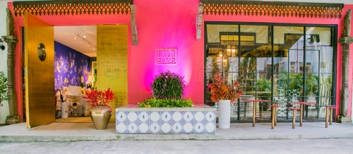 Lala Curio home décor store Wanchai Hong Kong.