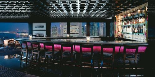 M bar Mandarin Oriental Hong Kong.