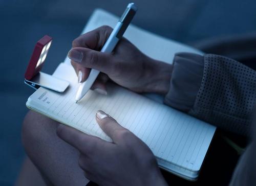 Moleskine journal / notebook and travel light.