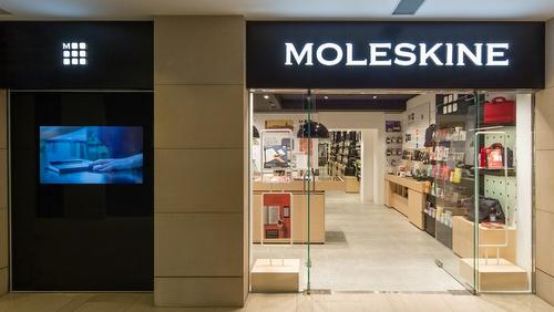 Moleskine store Landmark Hong Kong.