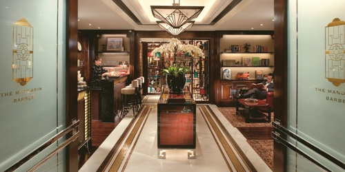 The Mandarin Barber shop Mandarin Oriental Hong Kong.