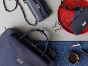 Tumi travel accessories and bags.