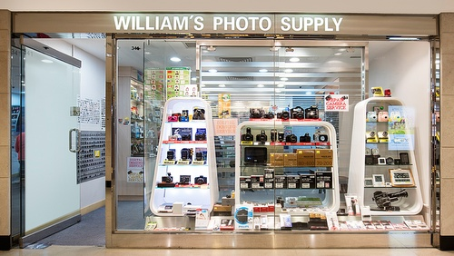 William's Photo Supply store Landmark Hong Kong.
