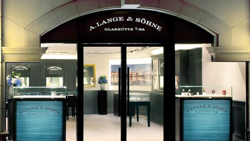 A. Lange & Söhne watch store 1881 Heritage Hong Kong.
